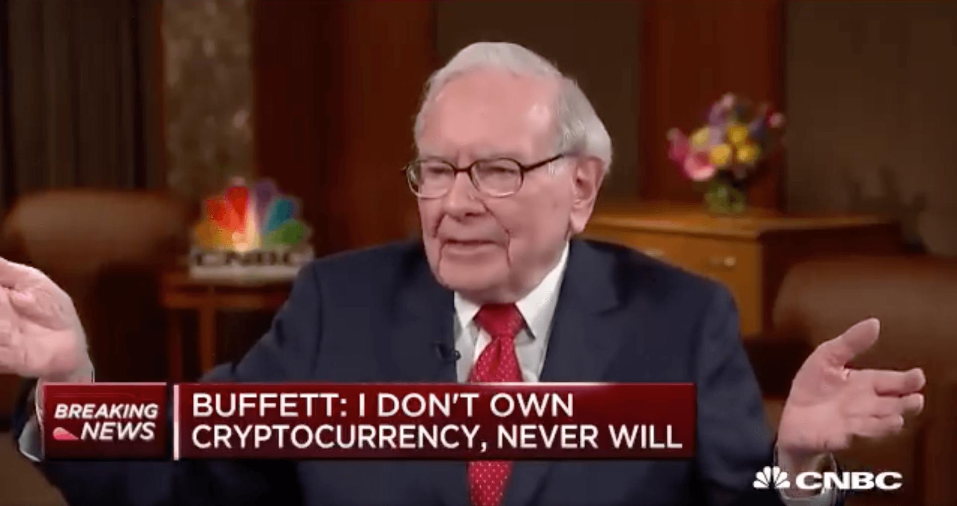 warren buffett interview