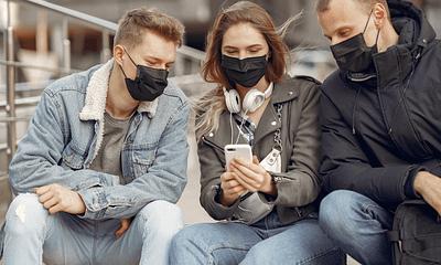 Die einfache Wissenschaft dahinter, warum Masken funktionieren