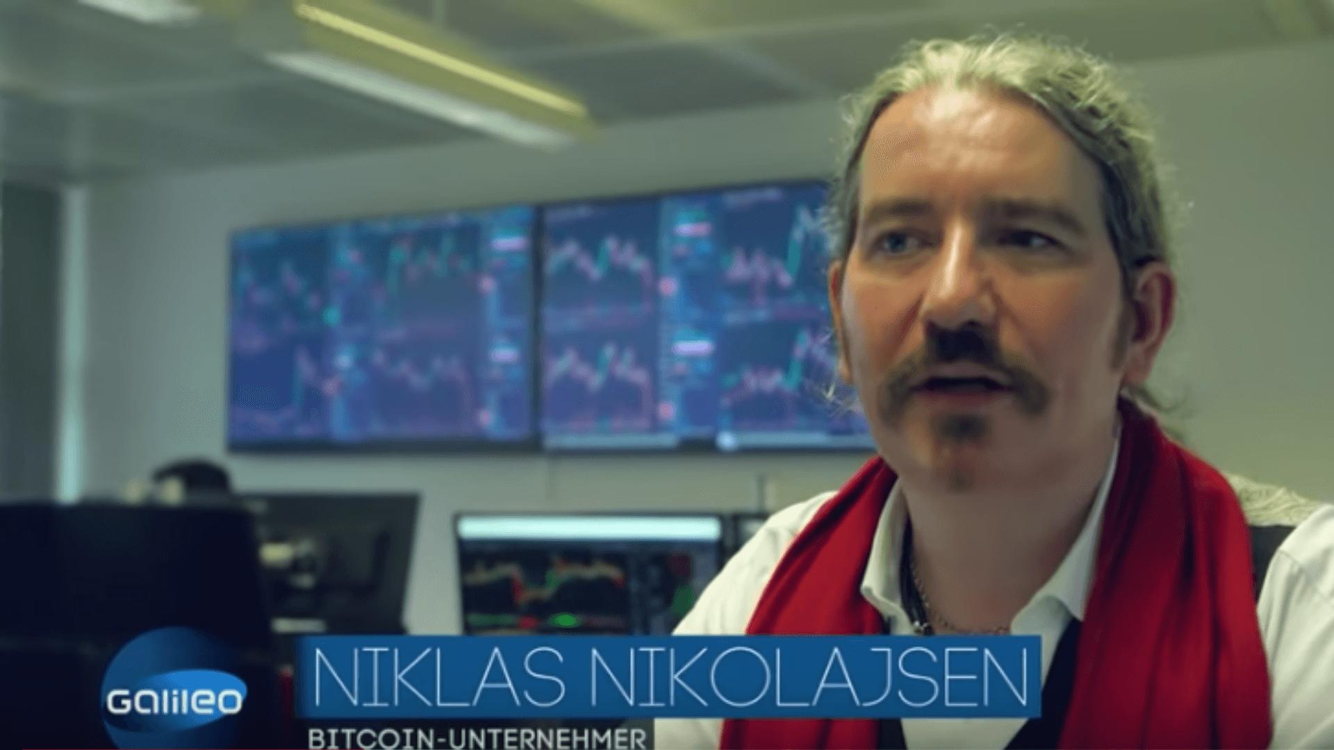 Niklas Nikolajsen bei Galileo