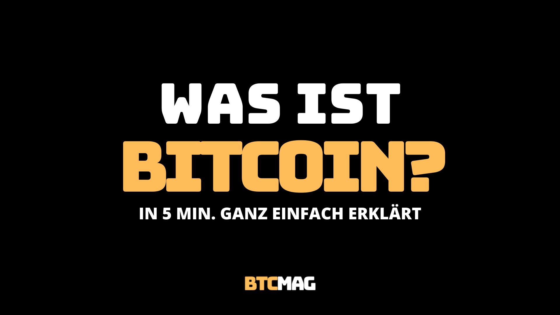 Was Ist Bitcoins